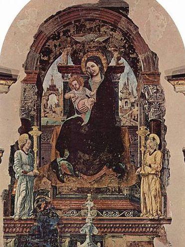 L'affresco della Madonna