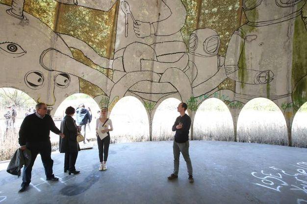 La discoteca fu costruita nel 1968 e rimase in funzione solo fino al 1975 (foto Zani)