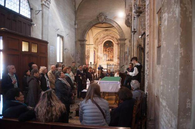 Fa parte del complesso il santuario della Madonna del Baraccano (foto Schicchi)