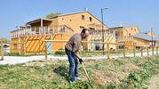 Alle Casefranche c'è anche l'orto (foto Fantini)