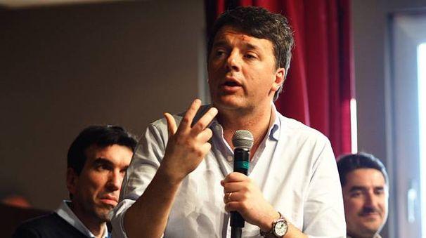 Con Matteo Renzi anche il ministro Martina