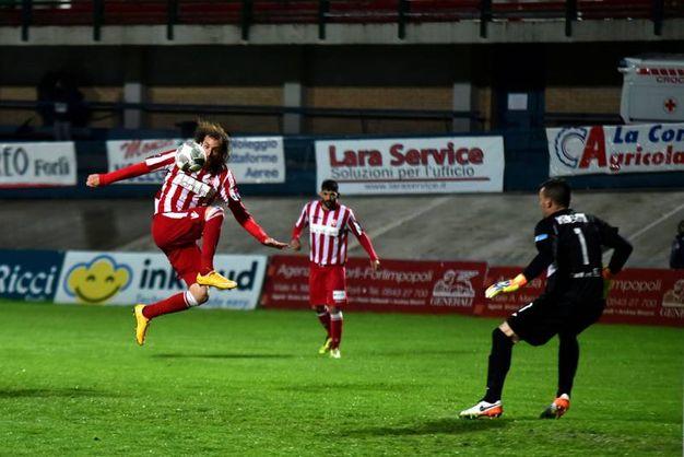Il gol annullato a Capellini (foto Fantini)