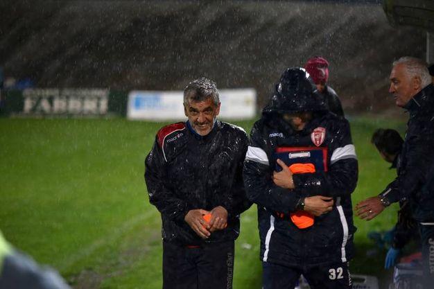 Gadda sotto la pioggia (foto Fantini)