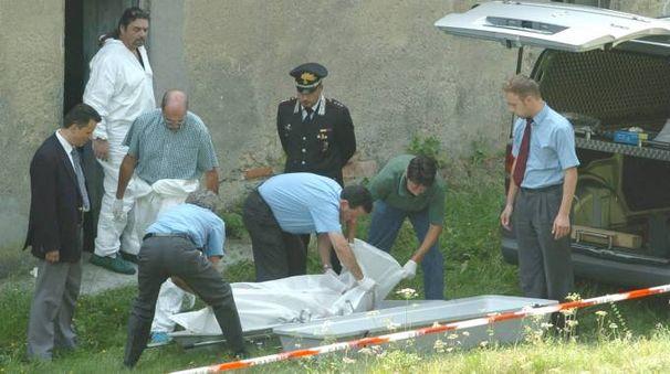 Omicidio a Comerio, ucciso Carlo Ossola (Newpress)