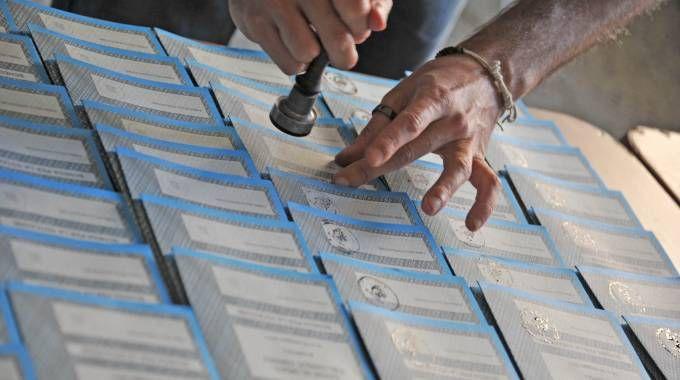 Elezioni amministrative, nelle Marche si vota in 19 Comuni (foto d'archivio Ansa)