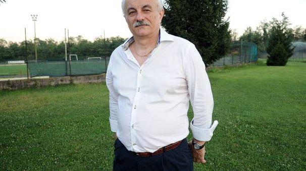 Il presidente della Castanese Sergio Zucchi