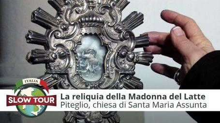 La reliquia della Madonna del Latte