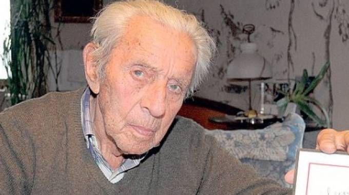 Un recente ritratto di Luchino Dal Verme, il Conte Partigiano