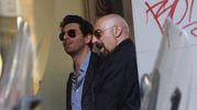 Bortolini e Coliandro durante le riprese (Schicchi)