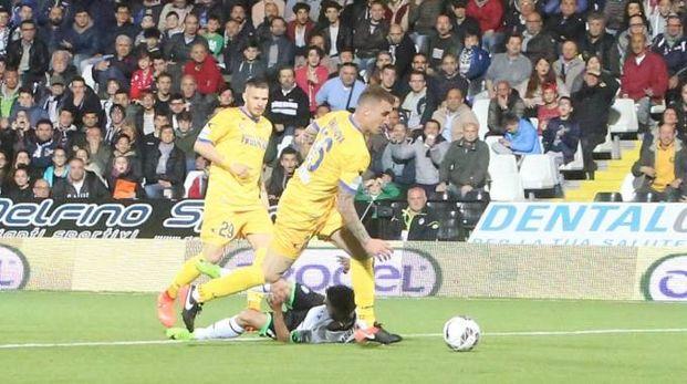 Cesena è stato fermato sul pareggio nei minuti finali (foto Ravaglia)