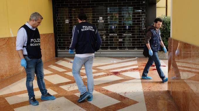 Il luogo dell'aggressione a Brescia