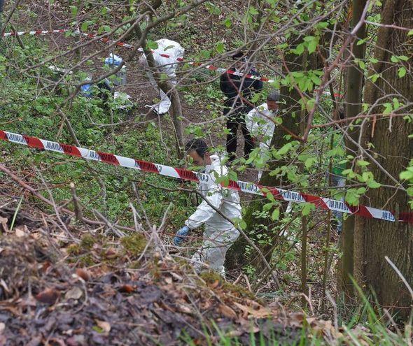 Cadavere nel bosco a Eupilio
