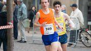 Due atleti durante la mezza maratona (foto Schicchi)