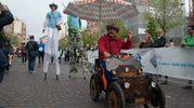 Alcuni partecipanti 'gogliardici' (foto Donzelli)