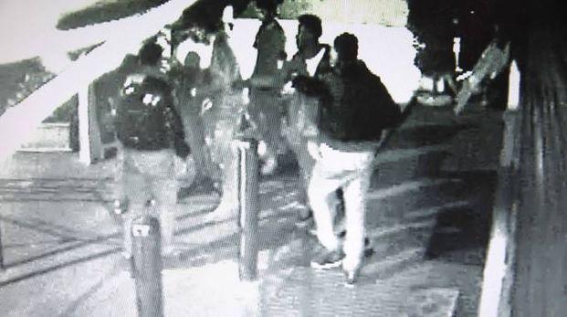 Frame video omicidio a Brescia