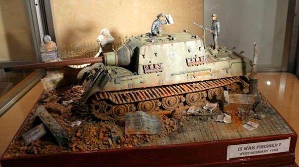 Un modellino militare