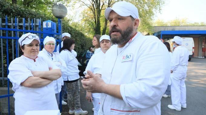 Lo sciopero a sorpresa nel centro pasti di Ribò (Schicchi)