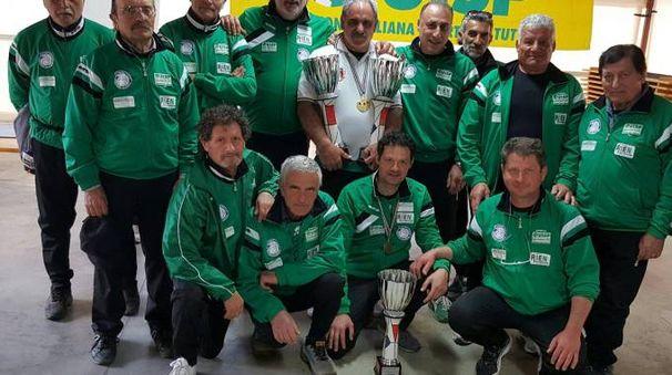 L'Asd Lo Cascio ha vinto due titoli nel campionato italiano di lancio del formaggio