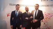 Mehmet Tugrul Bocutoglu, Ahmet Halid Kutluoglu, Mehmet Tiryakioglu (foto Schicchi)