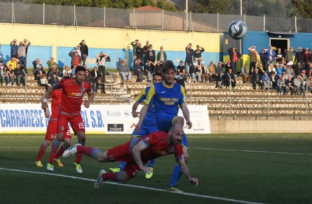 Carrarese-Alessandria (foto Delia)