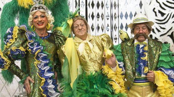 Il trio delle meraviglie: Teresa, Mabilia e Giovanni