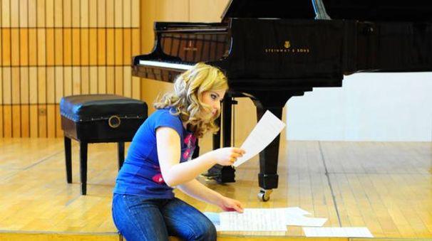 La pianista Anna Miernik