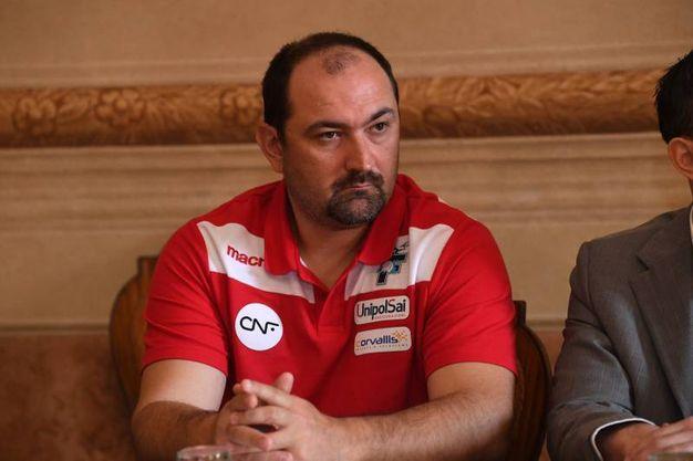 Il manager Daniele Frignani (foto Schicchi)