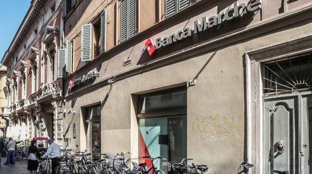 La sede centrale di Banca Marche a Pesaro (Fotoprint)