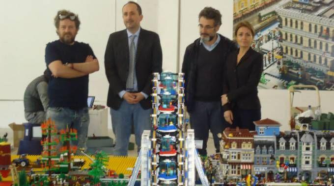 Da sinistra Wilmer Archiutti, Daniele Vimini, Silvano Straccini e Stefanella Ebhardt