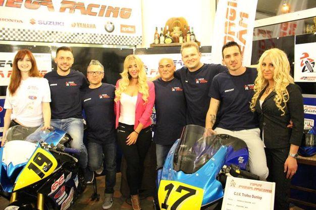 Team Piega Racing: Ghiselli, Ferri, Fabbrini, Ali, Fanelli (foto Ottaviani)