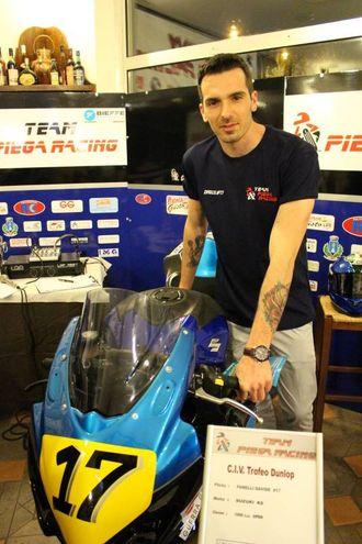 Team Piega Racing: Davide Fanelli pilota (foto Ottaviani)