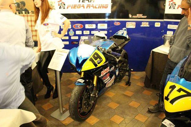 Team Piega Racing: (foto Ottaviani) la moto di Ghiselli