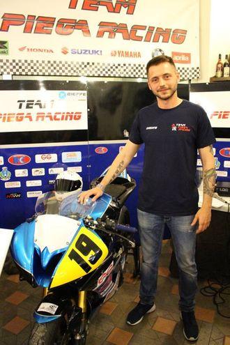 Team Piega Racing: Andrea Ghiselli pilota (foto Ottaviani)