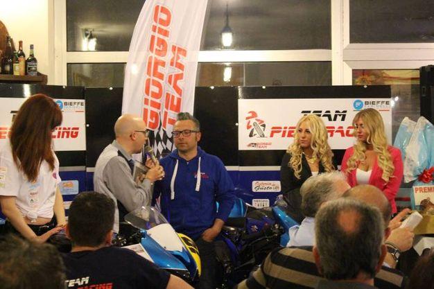 Team Piega Racing: GIanluca Ferri capotecnico (foto Ottaviani)