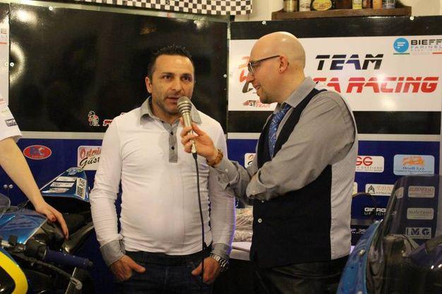 Team Piega Racing: ex pilota Giuseppe Fiorillo (foto Ottaviani)