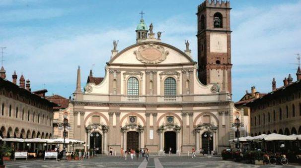 Il centro di Vigevano