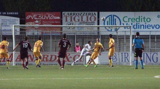 Pontedera-Livorno (Foto Sarah Esposito/Fotocronache Germogli)