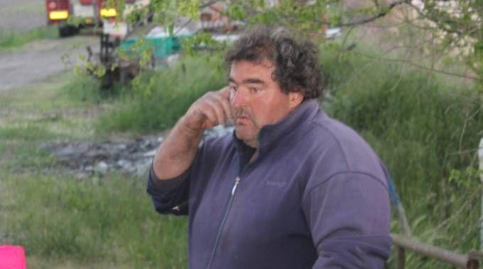 Andrea Rizzo, proprietario del garage dove si era rifugiato Igor il russo (Foto Vanini)