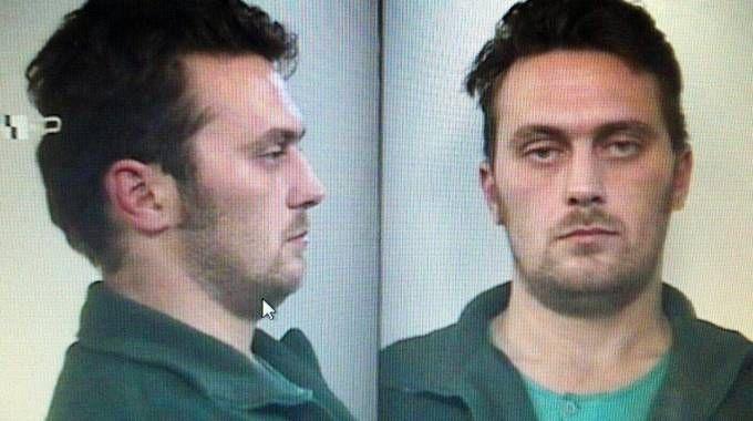 Le foto segnaletiche di Igor Vaclavic, killer di Budrio e di Ferrara (Ansa)