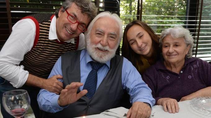 La festa per gli 80 anni di 'Tugnaz' (Frasca)