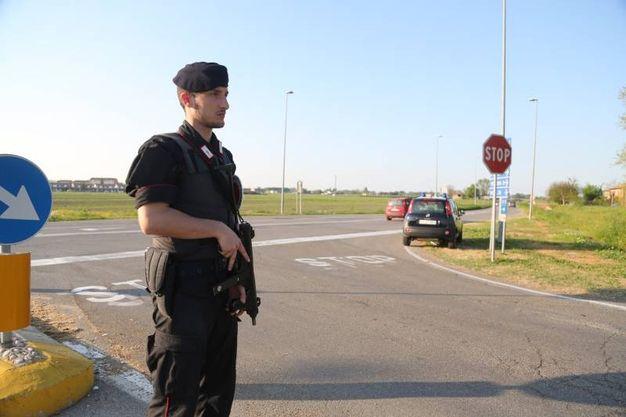 Posti di blocco in tutta la campagna (Foto Schicchi)