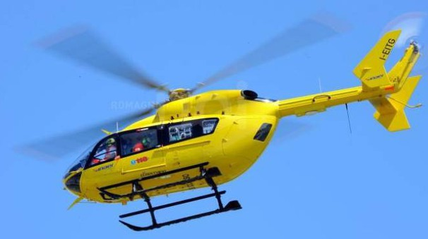 L'elicottero del 118