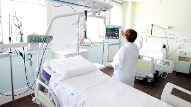 SANITA' Una camera dell'ospedale Bufalini (foto di repertorio)