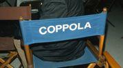 Magnani sulla sedia del regista Coppola