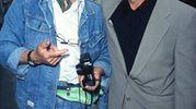 Una foto di Arnaldo Magnani e Dustin Hoffman
