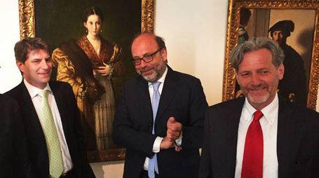Ennio Troiano, Dir risorse umane Menarini, Pierluigi Leone de Catris e Alessandro Tosi
