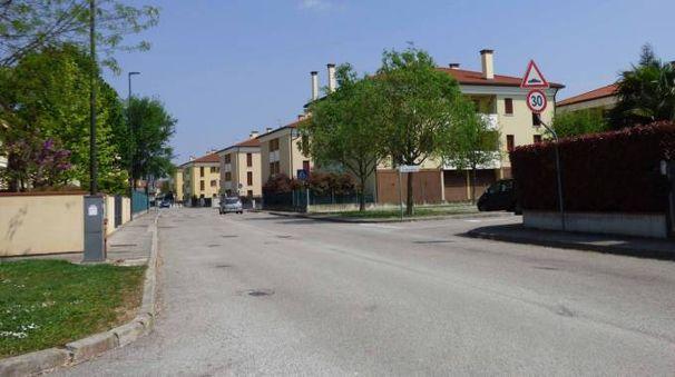 La zona del paese di Bosaro perlustrata dai carabinieri