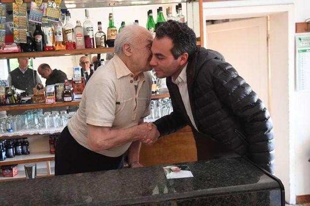 Le condoglianze del sindaco di Budrio, Giulio Pierini (foto Schicchi)