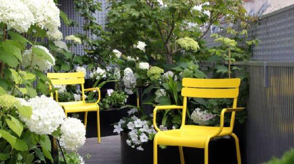 Anche un piccolo balcone può diventare uno spazio accogliente