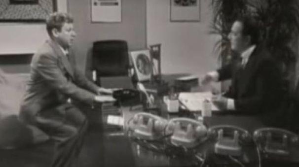 La famosa poltrona di Fracchia (Foto tratta da Youtube)